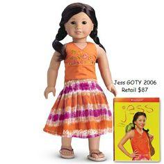 American Girl Doll GOTY 06 Jess