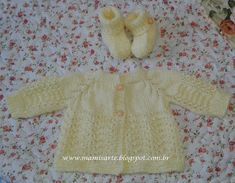 Crochet et Tricot da Mamis: Casaquinhos com Capuz em Tricot para Bebê - Receitas Baby Knitting, Knitting Patterns, Knit Crochet, Sweaters, Position, Pasta, Fashion, Baby Coming Home Outfit, Baby Sweater Patterns