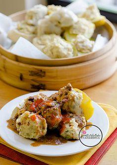 Siomay (steamed fish dumplings)