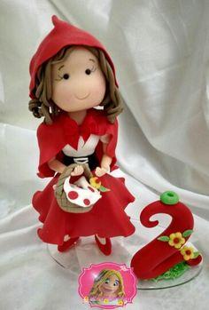 Vela topo Chapeuzinho vermelho https://m.facebook.com/profile.php?id=471657352920127