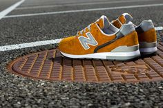 Beauty Youth x New Balance 996 鈥淥range鈥?(Detailed Pictures)