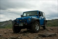 My 2011 Jeep Unlimited Wrangler Rubicon - on the top of the world :)