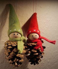 toboz manók Christmas Crafts For Gifts, Christmas Past, Christmas Diy, Christmas Decorations, Christmas Ornaments, Hobbies And Crafts, Crafts For Kids, Decor Crafts, Diy Crafts