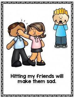 Hitting Social Story by Kindie Creations Kindergarten Classroom Management, Classroom Rules, School Counseling, Kindergarten Rules, Kindergarten Portfolio, Social Skills Lessons, Teaching Social Skills, Life Skills, Coping Skills
