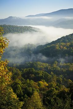 roads in the west virginia mountains | West Virginia Mountains | * World *
