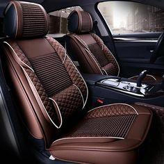Cool Summer Leather Seat Covers for VW Santana Passat CC Magotan Scirocco Phaeton Touareg Tiguan Touran Seat Cushion Protect Volkswagen Touran, Chevrolet Camaro, Chevrolet Blazer, Rolls Royce Phantom Interior, Jeep Wrangler Seats, Subaru, 370z, Air Seat, Benz Smart