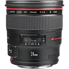 Canon EF 24mm f/1.4L II USM Lens 2750B002 B&H Photo Video