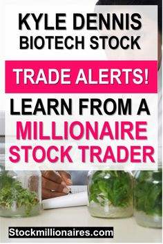 Kyle Dennis turned $15k into Millions over a few short years! Now you can learn his trading strategy for FREE and make money online trading stocks!