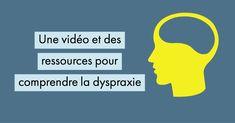 Une vidéo pour comprendre la dyspraxie (+ ressources PDF) Trouble, Phonics, Notebooks, Index Cards, Self Confidence, Angels, 1st Grades, Children, Notebook