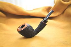 """Pipes by Grant  Pipe #21 - SOLD  """"Striped Maine"""" BlowfishBatson"""