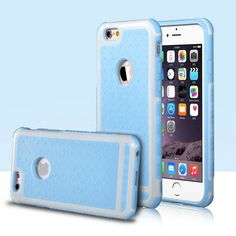 Apple iPhone Case Cover 5S Luxury 5 5Se 6 /6s Plus 5.5 Rubber Hybrid PC Rugged Matte Hard