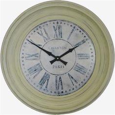 Traditionnellement Encadrée Chanvin Dial Clock - 50cm