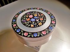 An enamel silver box made by Martin Mayer from Germany. Former collection.