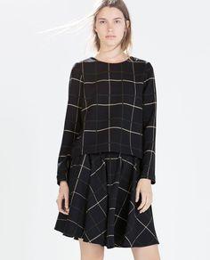 PAKJE MET RUITEN van Zara
