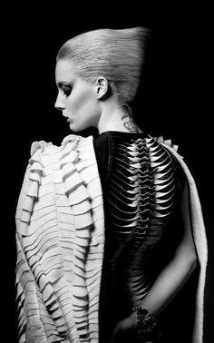 Strangely compelling, Model - Chloe Norgaard. Stylist - Shohei....