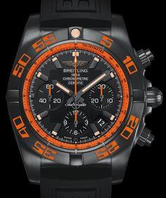 Breitling Chronomat 44 Raven – Стильный хронограф Брайтлинг | LuxuriousWatches.ru Breitling Chronomat, Breitling Superocean Heritage, Breitling Watches, Fine Watches, Men's Watches, Luxury Watches, Cool Watches, Watches For Men, Black Watches