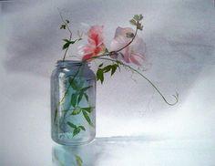 Jean-Claude-Chaillou---La-mouche-butineuse---Aquarelle---