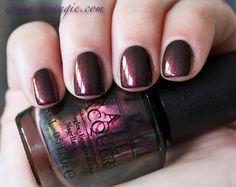 OPI San Francisco Collection   Fall/Winter 2013   (press samples)    Muir Muir on the Wall