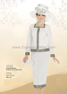Church Suits by Champagne - www.ExpressURWay.com - Church Suits, Champagne, Womens Suits, Suits for Women, Church Suits for Women