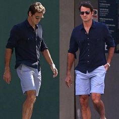 RF in NY for US Open 2014 - Sexy