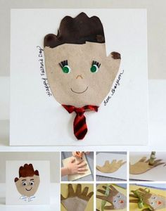 Preschool Crafts for Kids*: Father's Day Hand Print Daddy Craft Kids Crafts, Kids Fathers Day Crafts, Homemade Fathers Day Gifts, Fathers Day Cards, Gifts For Kids, Family Crafts, Fathers Gifts, Hand Kunst, Father's Day Activities
