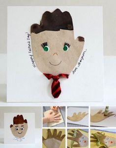 Manualidad para el día del padre #manualidades #DIY #crafts #niños #regalos