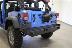 Rock Hard 4x4 Patriot Series Rear Bumper w/o Tire Carrier for Jeep Wrangler JK…