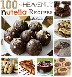 100 Heavenly Nutella Recipes!  https://tlaborn.velata.us/Velata/Home