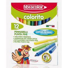 Sconto 50+20 su tutti i pennarelli Colorito. Invece di pagarlo 1,20 € lo paghi 0,48 € + IVA Solo da Mazzarella trovi qualità a un prezzo basso!