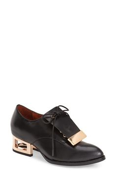 Jeffrey Campbell 'Ronan' Cage Heel Oxford (Women) available at #Nordstrom