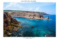 Calalunga , #carloforte #sardegna #isolasanpietro #girotonno #mare #landscape #sea #seascape #paesaggi #marepulito #acqua cristallina