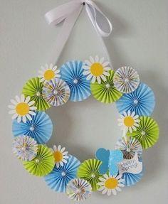 Весенние украшения сделай сам - Сайт для мам малышей