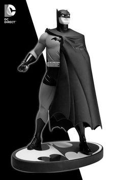 DC Direct Batman Black and White Statue by Darwyn Cooke / Jonathan Matthews