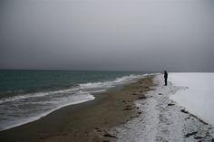 snow beach by geir tønnessen