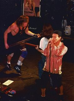 Pearl Jam @ Limelight, NYC 4/12/92   Flickr - Photo Sharing!