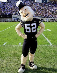 Vanderbilt Commodores - mascot Mr C