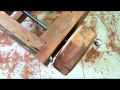 Bancada de Marceneiro Peroba de demolição - versão 1.0 - YouTube
