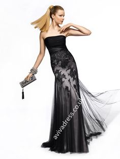 Pronovias Zinc cocktail dress from the 2013 Long Dress collection. Cocktail Dresses Online, Strapless Cocktail Dresses, Strapless Dress Formal, Prom Dress 2013, Tulle Prom Dress, Prom Dresses, Dresses 2013, Bridesmaid Dresses, Bridal Dresses