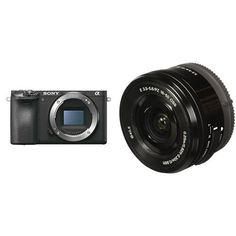 Sony Alpha a6500 Mirrorless Digital Camera w/Sony SELP1650 16-50mm Power Zoom Lens. 24.2MP APS-C Exmor sensor w/ advanced processing up to ISO 51.200. Wide 425 phase detection AF points, Fast 0.05 sec. AF acquisition. POWER ZOOM for smooth zooming with superb operability and quietness. ED glass and Aspherical lens elements for excellent performance with reduced aberrations.