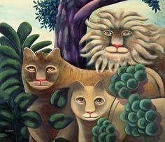 Family Portrait Painting by Jerzy Marek