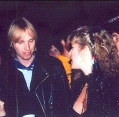 Tom Petty and Stevie   ~ ☆♥❤♥☆ ~   after a concert