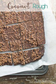 Work Snacks: Healthy Coconut Rough by Vanessa Vickery — Raspberry Magazine