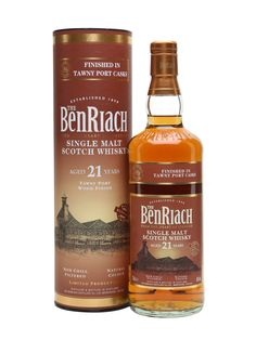 Benriach 21 Year Old / Port Finish