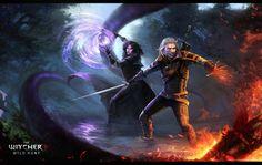 the witcher 3 fan art by ValeryNeith