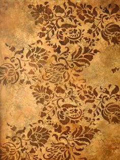 Faux finishes for walls, ceilings and floors. This is an example of the Seville style. This would be awesome on my patio floor! Painted Concrete Floors, Painting Concrete, Faux Painting, Faux Finishes For Walls, Faux Walls, Floor Finishes, Patio Flooring, My Home Design, Tuscan Decorating
