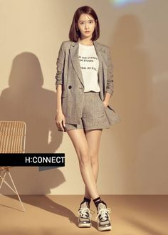 [HQ] 180508 YoonA - HConnect Summer 2018 Collection from H:Connect Website and Fb (with different dimensions) Sooyoung, Yoona Snsd, Kpop Girl Groups, Kpop Girls, Korean Blouse, Yuri, Blouse Models, Famous Girls, Korean Model