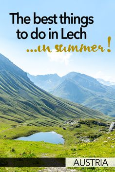 The village of Lech in Austria is best known as an exclusive ski resort but it's also full of things to do in summer, including the famous Green Ring hike. Europe Travel Outfits, Europe Travel Guide, Travel Guides, Visit Austria, Austria Travel, European Travel Tips, European Vacation, Europe Destinations, Amazing Destinations