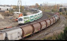 RailPictures.Net Photo: GO 329 GO Transit (Greater Toronto Transit Authority) Bombardier Cab Car at Oshawa, Ontario, Canada by Chris Wilson