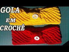 Gola de Crochê Veludo - YouTube