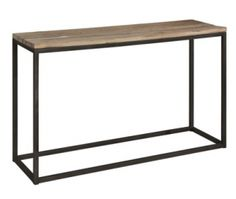 Sideboard Elmwood metal, 130x40x78h